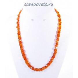 Бусы Циркон Оранжевые 1