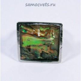 Кольцо Галиотис Полярное сияние квадрат
