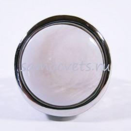 белый перламутр кольцо - Круг