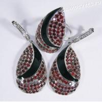 Комплект красные кристаллы - Чулпан