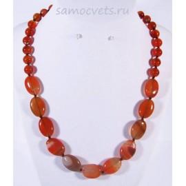 Колье из Оранжевого агата - Алгуль