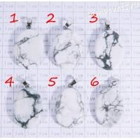 Кулон из кахолонга плоский овал - 1