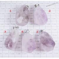 Кулон аметист - Большой кристалл