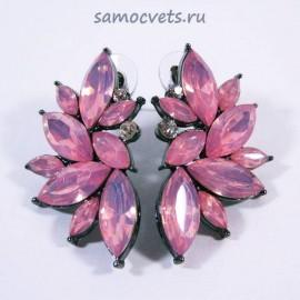 Гвоздики Принцесса Опалово - Розовые Кристаллы