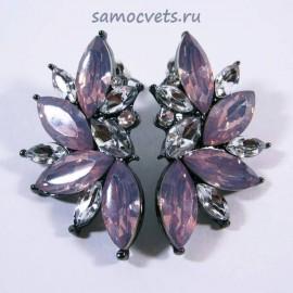 Гвоздики Принцесса Розовые Кристаллы