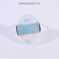 """Кольцо Лунный камень с кабошоном """"Цвета"""""""