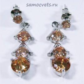 """Гвоздики Циркон """"Капель"""" Оранжевые"""